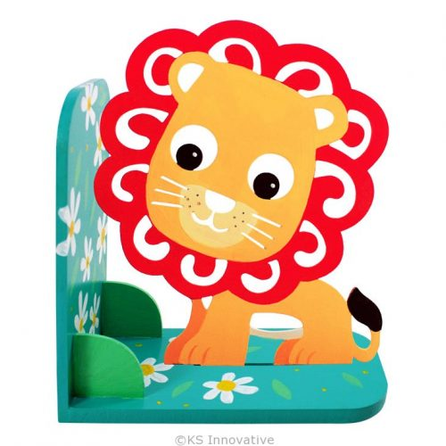 wooden-bookend-kit-lion-01