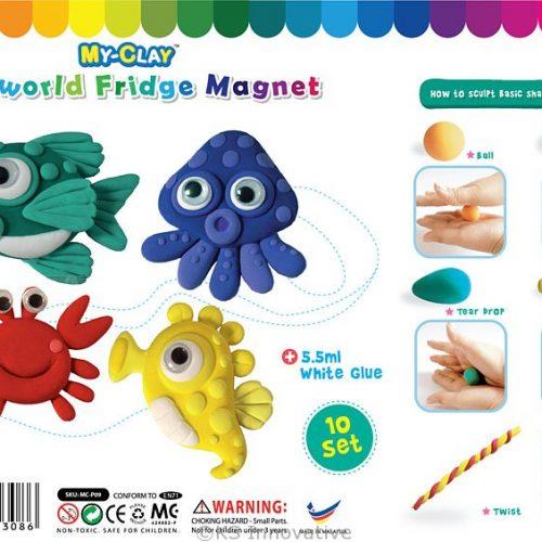 my-clay-seaworld-fridge-magnet-kit-pack-of-10