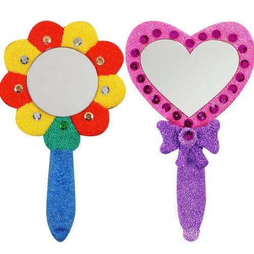 foam-clay-hand-mirror-kit-flower-heart-set
