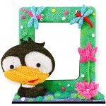 foam-clay-photo-frame-kit-duckling
