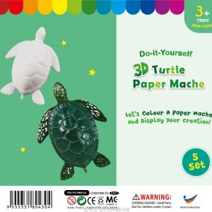 3D-animal-paper-mache-turtle-pack-of-5