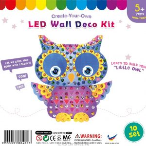 led-wall-deco-owl-pack-of-10