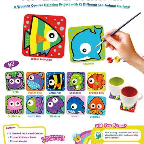 sea-animal-coaster-kit