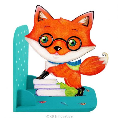 wooden-bookend-kit-fox-01