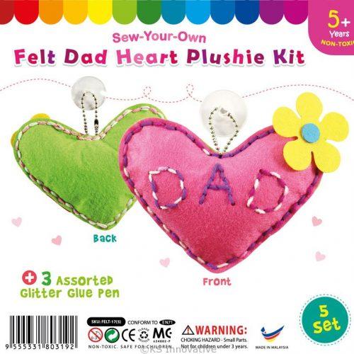 felt-dad-heart-shape-plushie-pack-of-5