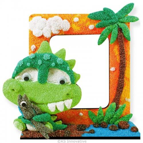 foam-clay-photo-frame-kit-baby-dino