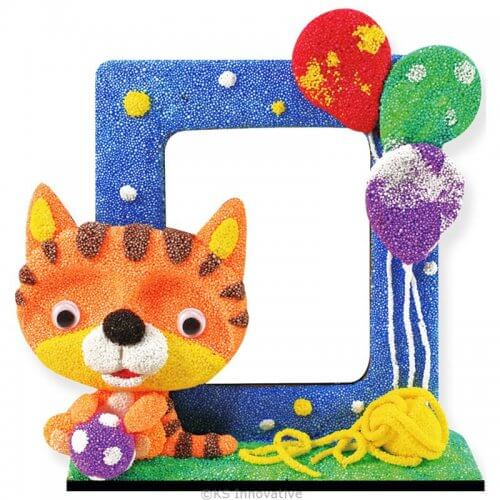 foam-clay-photo-frame-kit-kitten