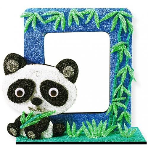 foam-clay-photo-frame-kit-panda